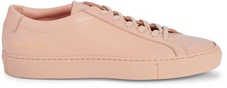 Woman By Common Projects Achilles Low-Top Leather Sneakers