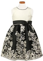Sorbet Girl's Embroided Party Dress