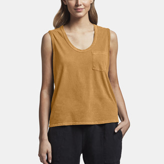James Perse VINTAGE WASH POCKET TANK