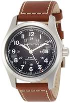 Hamilton Men's Field H70555533 Leather Swiss Automatic Watch