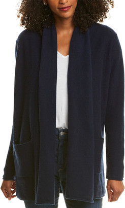 The Cashmere Project Shawl Cashmere Cardigan