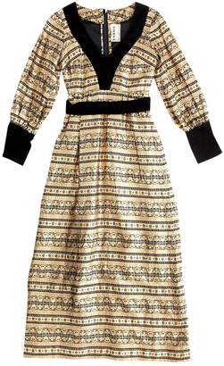N. Non Signé / Unsigned Non Signe / Unsigned \N Gold Glitter Dresses