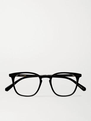 Mr. Leight Getty C Square-Frame Acetate and Gold-Tone Titanium Optical Glasses - Men - Black
