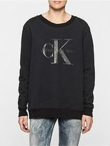 Calvin Klein Womens Halan Logo Sweatshirt