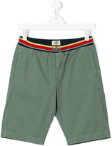 Bellerose Kids - striped waistband shorts - kids - Cotton - 16 yrs
