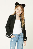 Forever 21 FOREVER 21+ Girls Glitter Jacket (Kids)