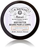 JR Watkins Natural Body Butter, Lavender & Roman Chamomile, 6 Ounce