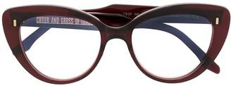 Cutler & Gross 1350 Cat-Eye Frame Optical Glasses