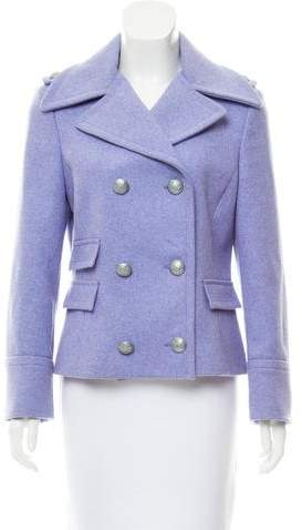 Michael Kors Wool Double-Breasted Coat