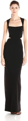 Nicole Miller Women's Fiona Structured Heavy Jersey Dress
