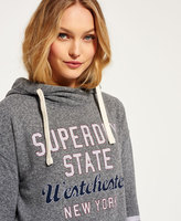 Superdry Graphic Wrap Front Slouch Hoodie