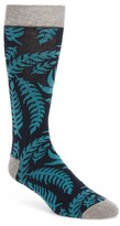 Ted Baker Men's Fiachu Leaf Print Socks