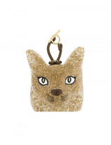 Loewe cat face bag charm