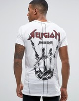 Religion T-shirt With Stage Girl Print