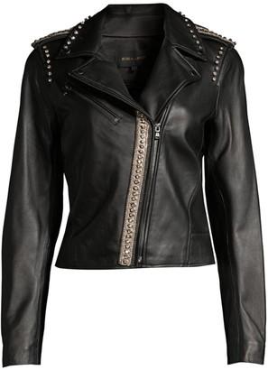 Kobi Halperin Donella Leather Moto Jacket