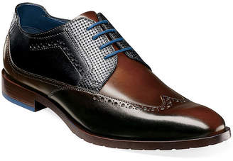 Stacy Adams Mens Rooney Oxford Shoes Wing Tip
