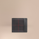 Burberry Horseferry Check Folding Coin Wallet