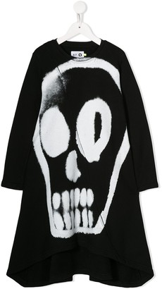 Nununu Skull-Print Dress