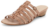 Sesto Meucci Greer Strappy Woven Sandal, Natural