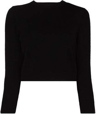 Tibi Cropped Cashmere Jumper
