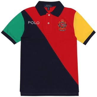 Polo Ralph Lauren Kids Embroidered cotton polo shirt