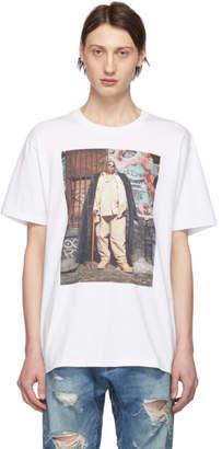 R 13 White Biggie Graffiti Curtis T-Shirt