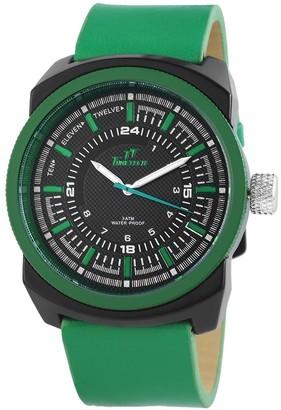 Shaghafi Men's Quartz Watch 227476500010 with Leather Strap