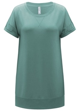 Ideology Cotton Distressed Tunic, Created for Macy's