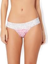 Accessorize Paisley Thong