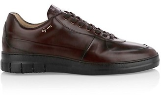 Dunhill Duke City Leather Sneakers