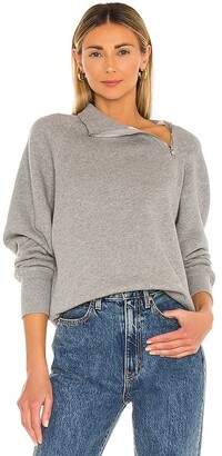 Marissa Webb Funnel Neck Sweatshirt