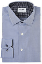 Duchamp Slim Fit Herringbone Contrast Dress Shirt
