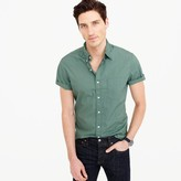 J.Crew Short-sleeve shirt in green