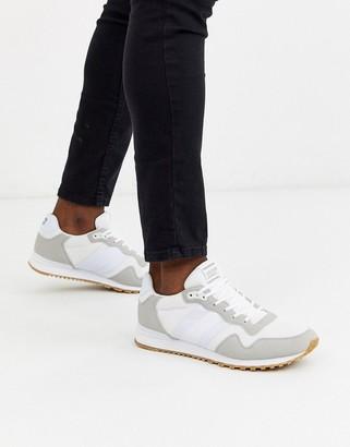 Jack and Jones sneaker in white combo