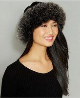 The Fur Vault Fox-Fur-Trim Wool-Alpaca-Blend Hat