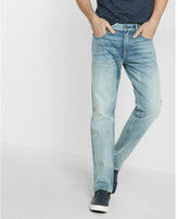 Express Slim Straight Light Wash Original Jeans