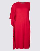 Limited Edition Drape 3/4 Sleeve Tunic Dress
