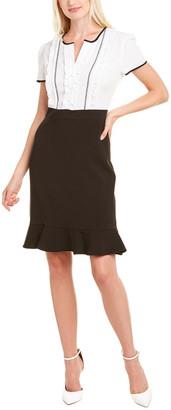 Karl Lagerfeld Paris Contrast Mini Dress