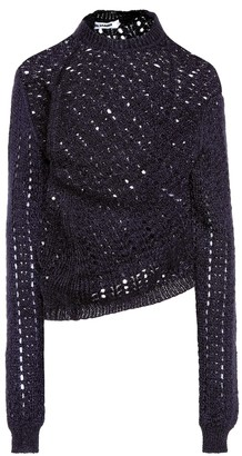 Jil Sander Mohair and silk sweater