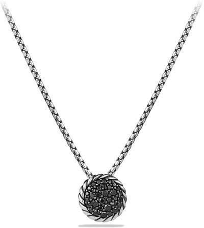David Yurman Chatelaine Pendant with Black Diamonds