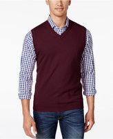 Club Room Men's Big and Tall V-Neck Sweater Vest