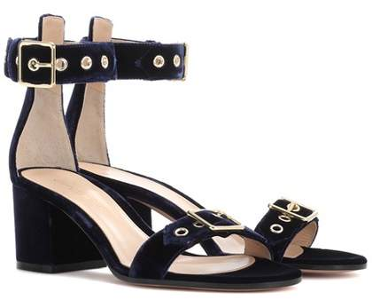 Gianvito Rossi Exclusive to mytheresa.com - Hayes 60 velvet sandals