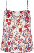 Yumi Prairie Poppy Print Camisole Top