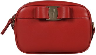 Salvatore Ferragamo Logo Plaque Shoulder Bag