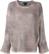 Avant Toi loose fit top - women - Silk/Cashmere/Merino - S