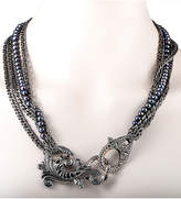 Stephen Webster Silver & Rhodium Pearl Necklace