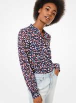 MICHAEL Michael Kors Floral Georgette Shirt