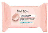 L'Oreal Fine Flowers Cleansing Wipes Normal to Combination Skin 25 Wipes