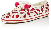 Kate Spade x Keds Kick Pom-Pom Lace Up Sneakers
