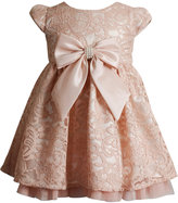 Sweet Heart Rose Baby Girls' Lace & Bow Dress